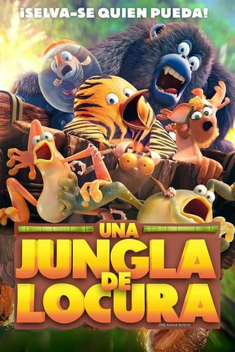 "Poster for the movie ""The Jungle Bunch. La panda de la selva"""
