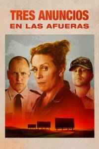 "Poster for the movie ""Tres anuncios en las afueras"""