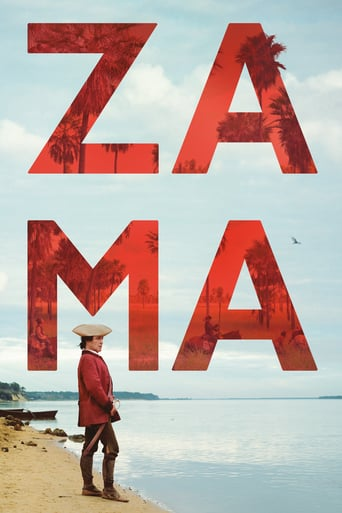 """Poster for the movie """"Zama"""""""