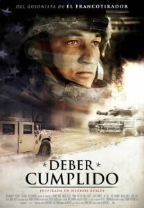 "Poster for the movie ""Deber cumplido"""