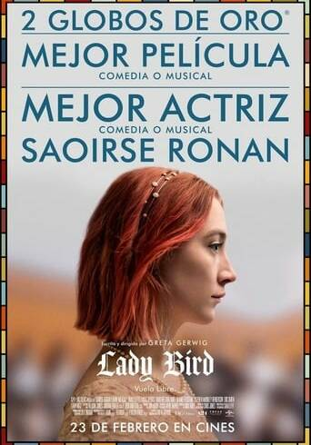 "Poster for the movie ""Lady Bird"""