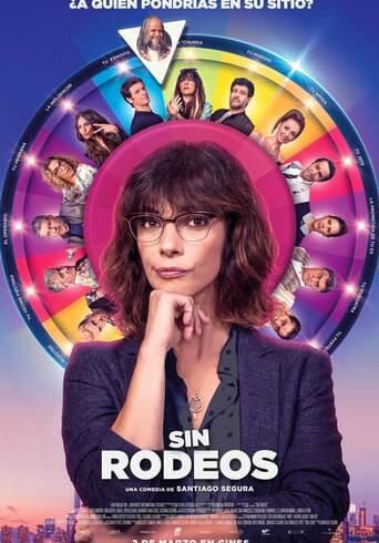 """Poster for the movie """"Sin rodeos"""""""