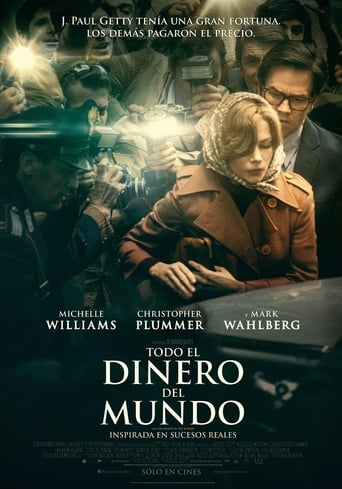 "Poster for the movie ""Todo el dinero del mundo"""