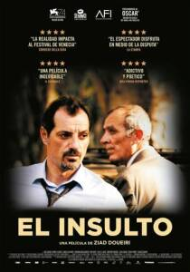 "Poster for the movie ""El insulto"""