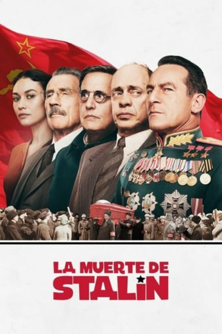 "Poster for the movie ""La muerte de Stalin"""
