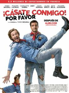 "Poster for the movie ""¡Cásate conmigo! Por favor"""