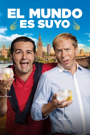 "Poster for the movie ""El mundo es suyo"""