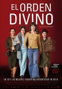 """Poster for the movie """"El orden divino"""""""