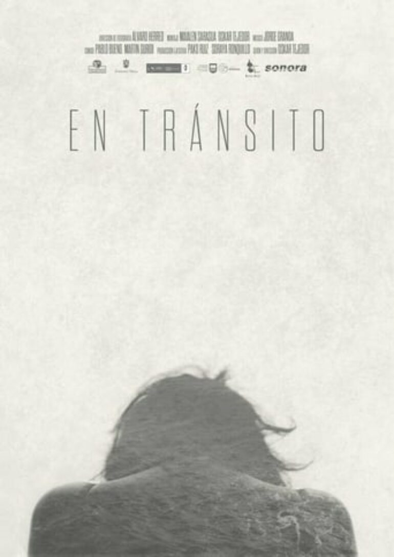 "Poster for the movie ""En tránsito"""
