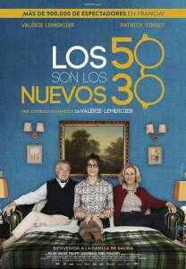"Poster for the movie ""Los 50 son los nuevos 30"""