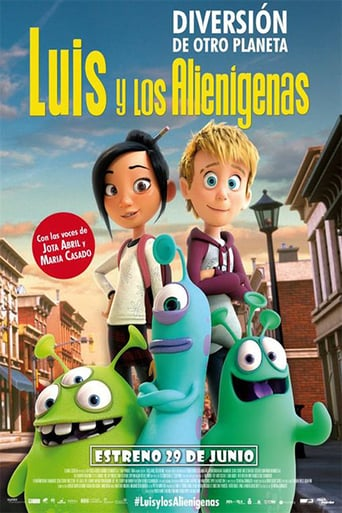 "Poster for the movie ""Luis y los alienígenas"""