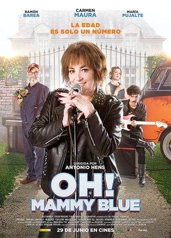"Poster for the movie ""Oh! Mammy Blue"""