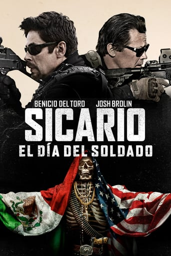 "Poster for the movie ""Sicario: El Día Del Soldado"""