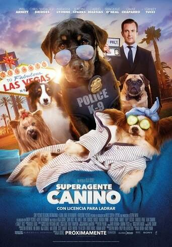 """Poster for the movie """"Superagente canino"""""""