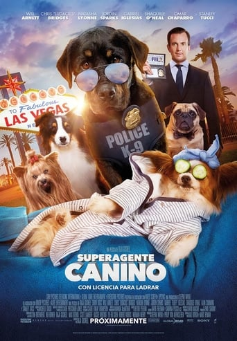 "Poster for the movie ""Superagente canino"""