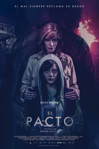 "Poster for the movie ""El pacto"""