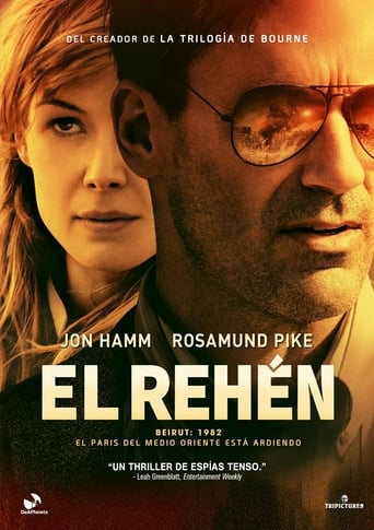 "Poster for the movie ""El rehén"""