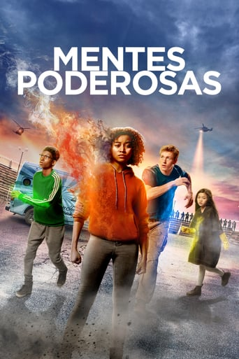 "Poster for the movie ""Mentes poderosas"""