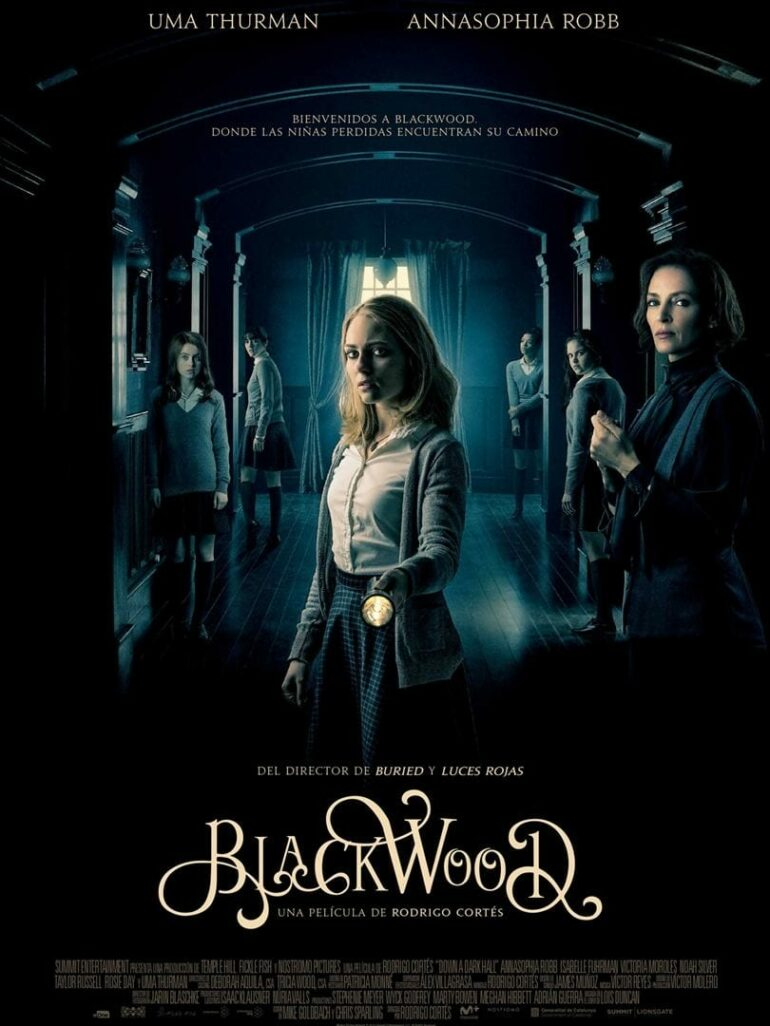 "Poster for the movie ""Blackwood"""
