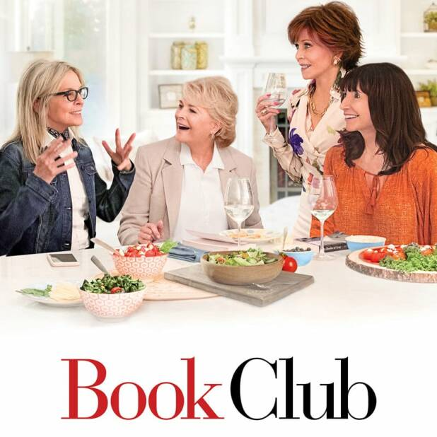 "Poster for the movie ""Book Club"""