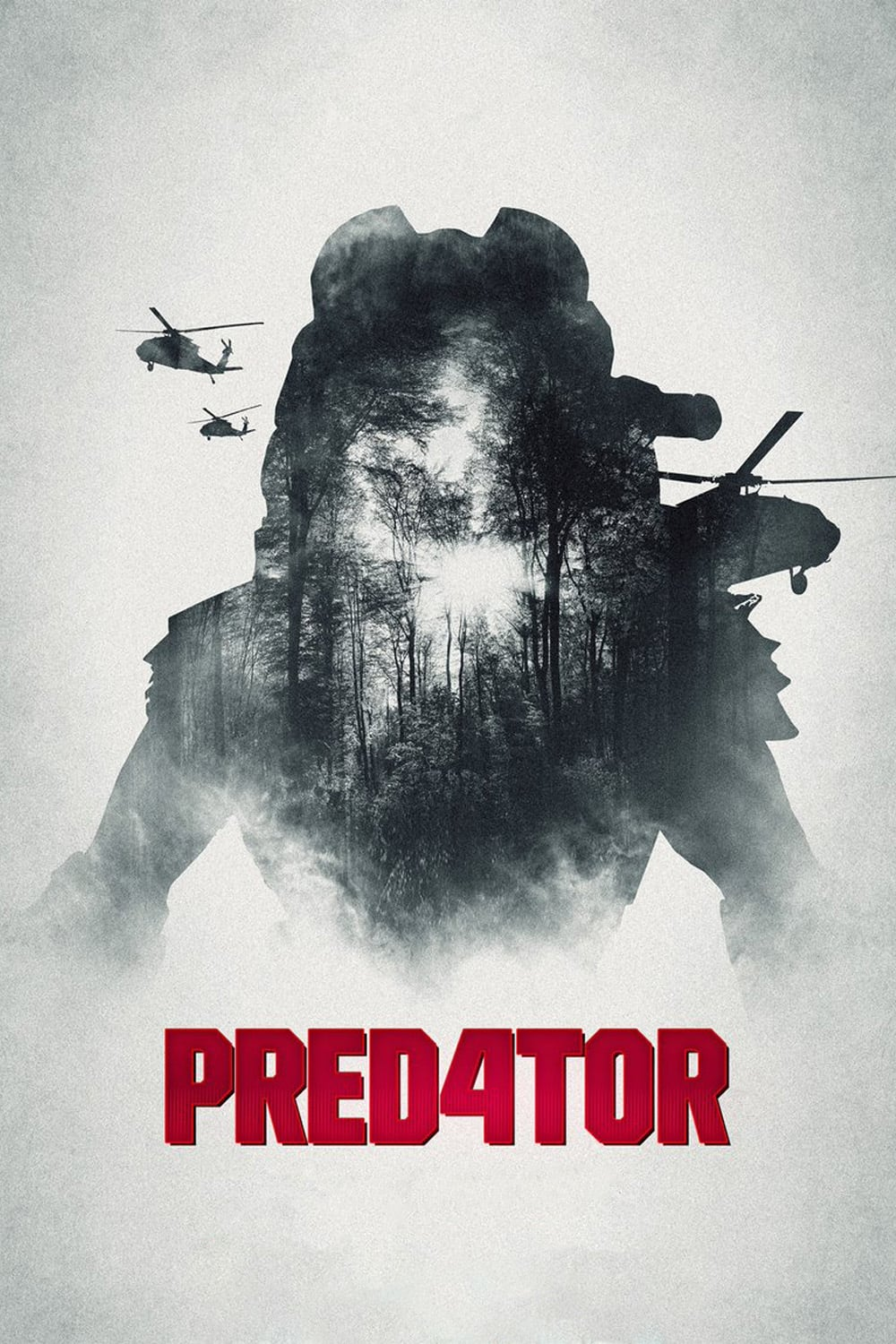 "Poster for the movie ""Predator"""
