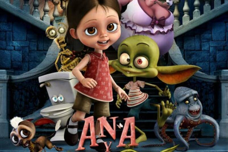 """Poster for the movie """"Ana y Bruno"""""""