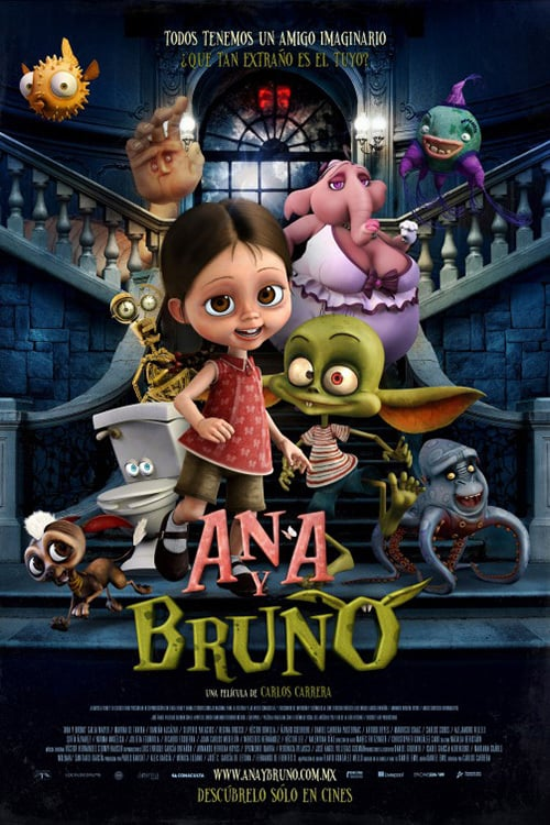 "Poster for the movie ""Ana y Bruno"""