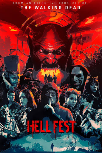 "Poster for the movie ""Hell Fest"""