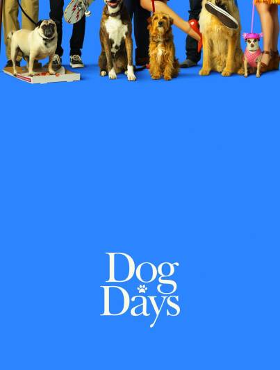 "Poster for the movie ""I Love Dogs"""