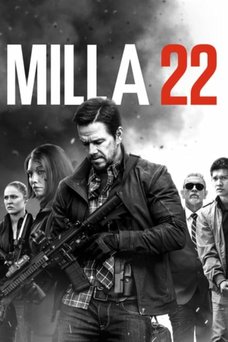 "Poster for the movie ""Mile 22"""