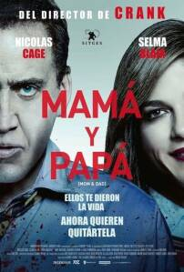 "Poster for the movie ""Mamá y Papá"""