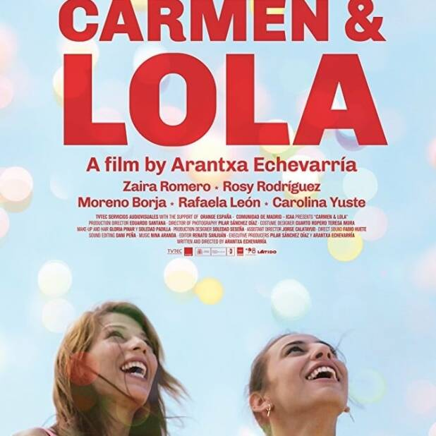 "Poster for the movie ""Carmen y Lola"""