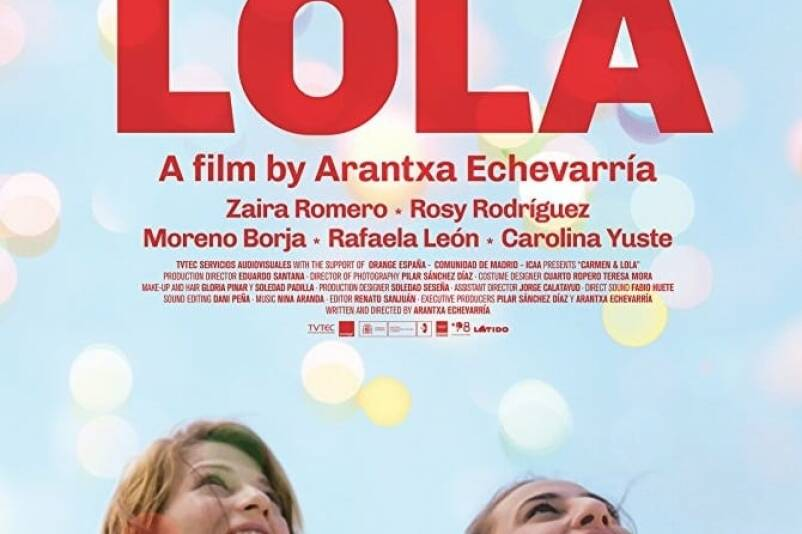 """Poster for the movie """"Carmen y Lola"""""""