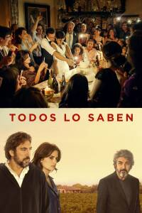 "Poster for the movie ""Todos lo saben"""