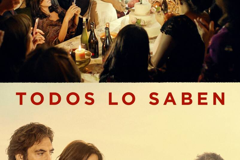 """Poster for the movie """"Todos lo saben"""""""