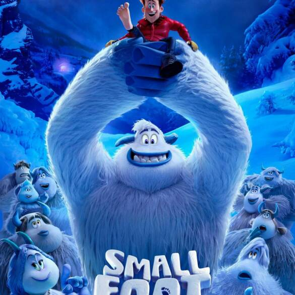 "Poster for the movie ""Smallfoot"""