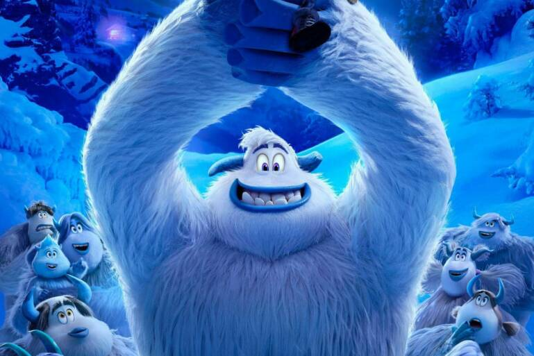 """Poster for the movie """"Smallfoot"""""""