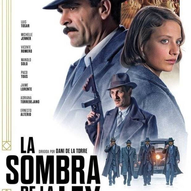 "Poster for the movie ""La sombra de la ley"""