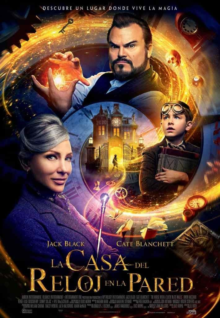 """Poster for the movie """"The House with a Clock in Its Walls"""""""