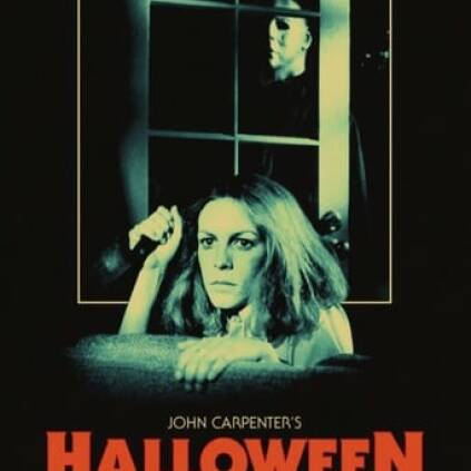 "Poster for the movie ""La noche de Halloween"""