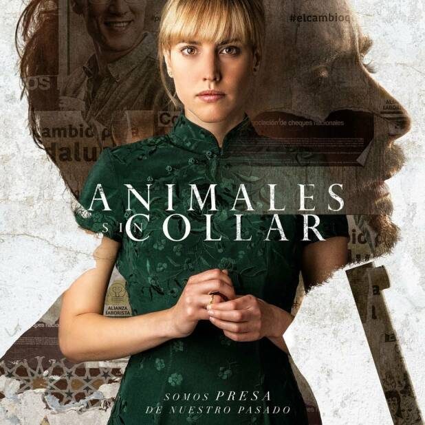 "Poster for the movie ""Animales sin collar"""