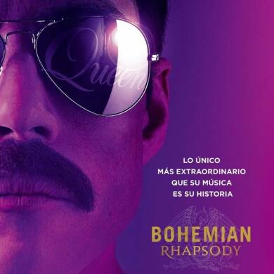"Poster for the movie ""Bohemian Rhapsody"""