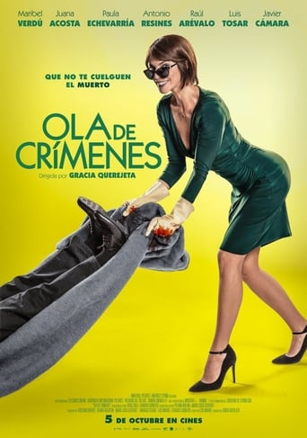 "Poster for the movie ""Ola de crímenes"""