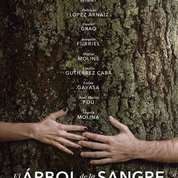 "Poster for the movie ""El árbol de la sangre"""