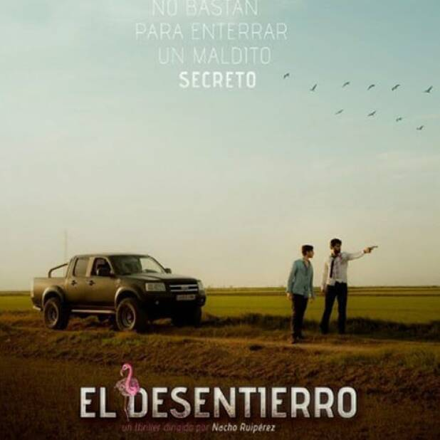 "Poster for the movie ""El desentierro"""