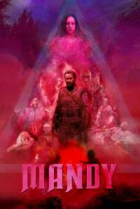 "Poster for the movie ""Mandy"""