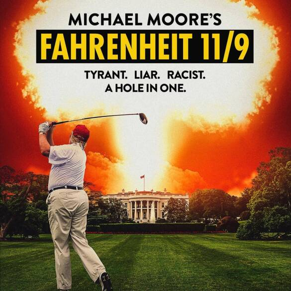 """Poster for the movie """"Fahrenheit 11/9"""""""
