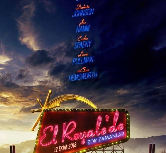 "Poster for the movie ""Malos tiempos en el Royale"""