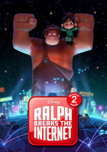 """Poster for the movie """"Ralph Rompe Internet"""""""