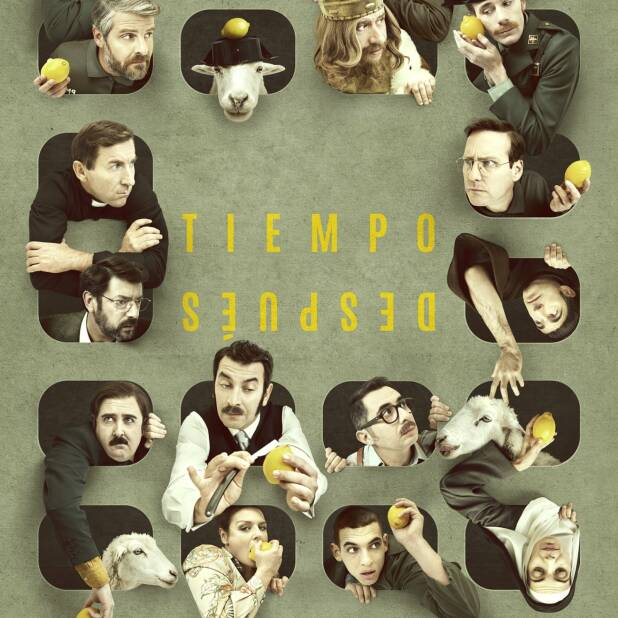 "Poster for the movie ""Tiempo después"""